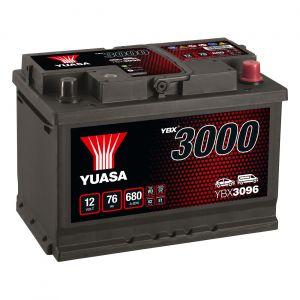 096 3000 Series Car Battery - 4 Year Warranty