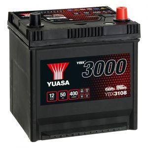 108 3000 Series Car Battery - 4 Year Warranty
