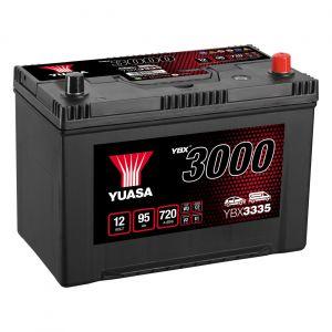 335 3000 Series Car Battery - 4 Year Warranty
