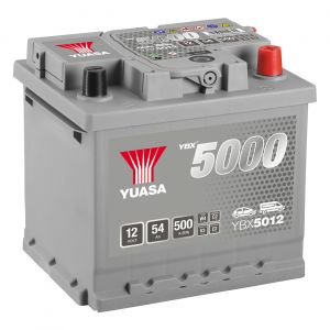 012 5000 Series Car Battery - 5 Year Warranty