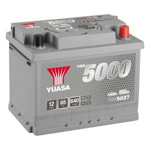027 5000 Series Car Battery - 5 Year Warranty
