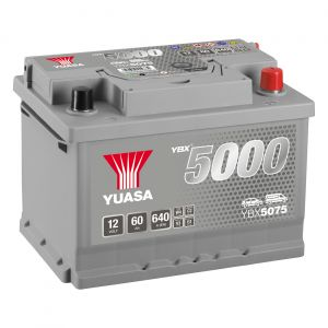 075 5000 Series Car Battery - 5 Year Warranty