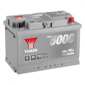 096 5000 Series Car Battery - 5 Year Warranty