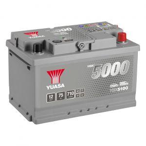 100 5000 Series Car Battery - 5 Year Warranty