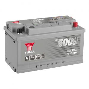110 5000 Series Car Battery - 5 Year Warranty