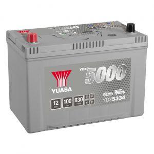 334 5000 Series Car Battery - 5 Year Warranty
