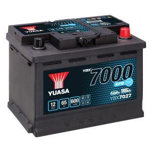 027 7000 Series EFB Car Battery - 4 Year Warranty