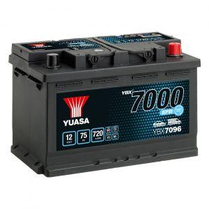 096 7000 Series EFB Car Battery - 4 Year Warranty