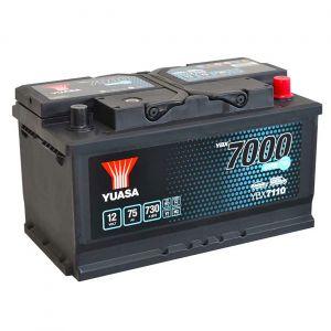110 7000 Series EFB Car Battery - 4 Year Warranty