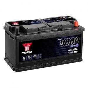 019 9000 Series AGM Car Battery - 4 Year Warranty