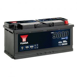 020 9000 Series AGM Car Battery - 4 Year Warranty