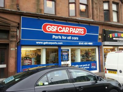 Gsf Car Parts Glasgow Opening Hours Branch Map And Address