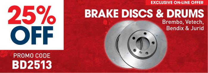 Brake Discs & Drums