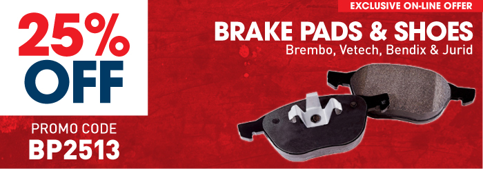 Brake Pads & Shoes