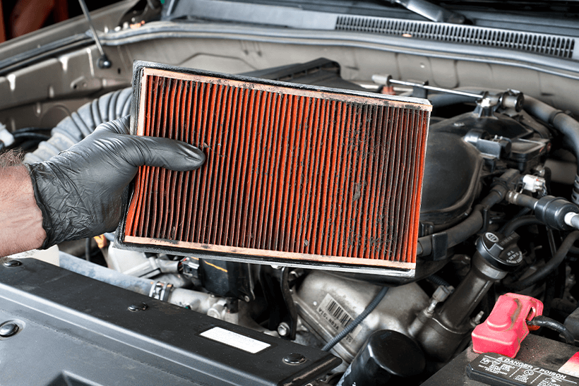 How often should you change the air filter in your car?