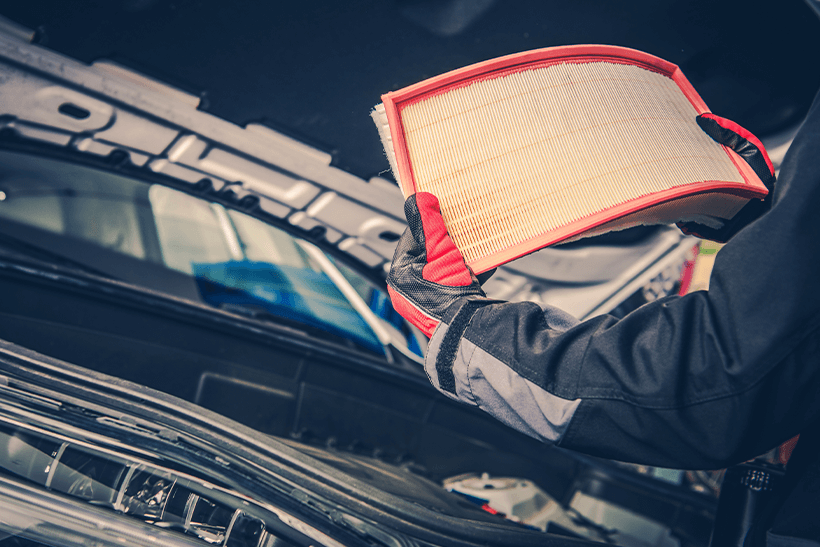 How to clean, check and change your air filter