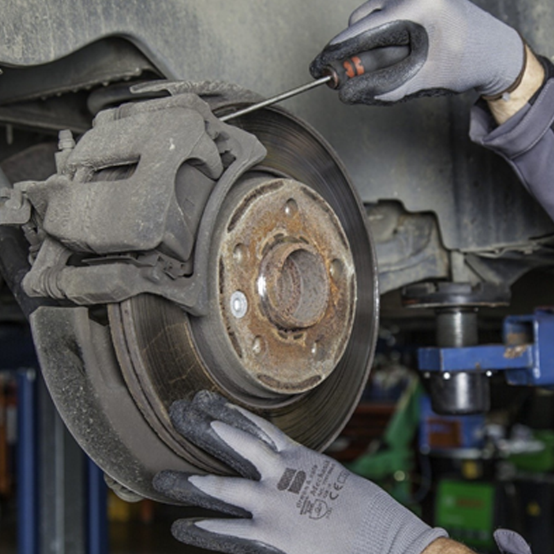How to check & change brake pads