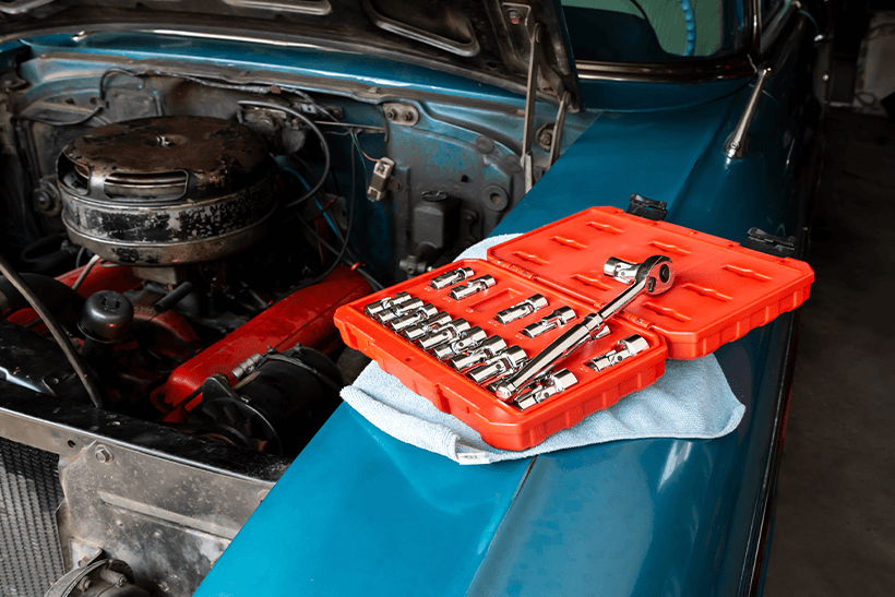 How to change a fuel filter step by step