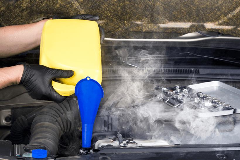How to do a car radiator coolant flush